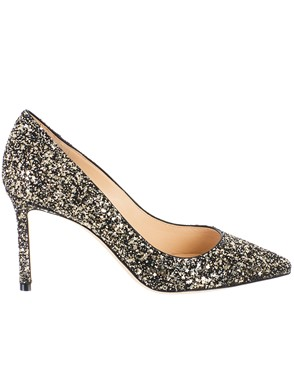 JIMMY CHOO - DECOLLETE ROMY ARGENTO