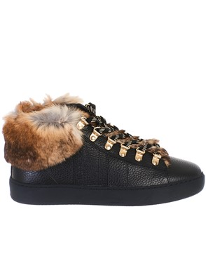 WOOLRICH - LEATHER SNEAKERS