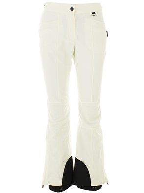 MONCLER - WHITE GRENOBLE SKI PANTS