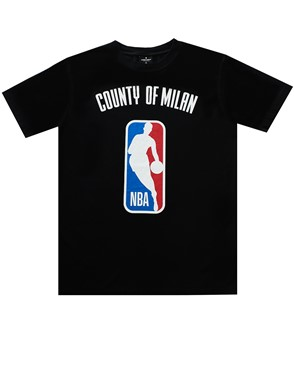 MARCELO BURLON COUNTY OF MILAN - BLACK T-SHIRT