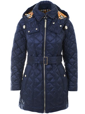 BURBERRY - BLUE BAUGHTON HEAVY COAT