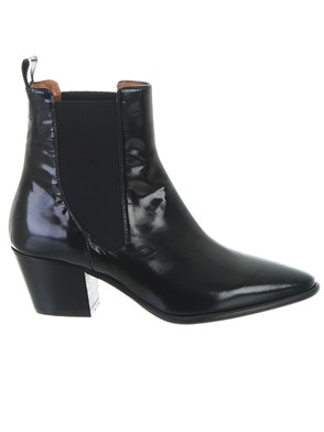 PARIS TEXAS - BLACK ANKLE BOOTS