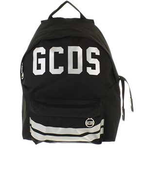 GCDS - BLACK BACKPACK