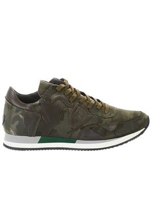 PHILIPPE MODEL - ARMY GREEN SNEAKERS