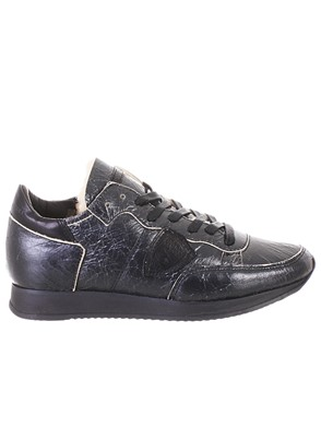 PHILIPPE MODEL - BLACK TROPEZ SNEAKERS