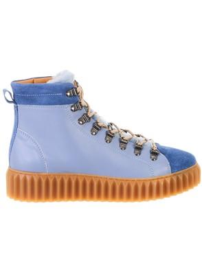 VOILE BLANCHE - LIGHT BLUE FENNY BOOTS