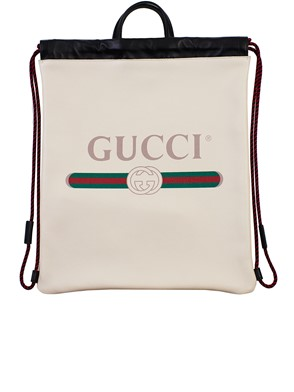 GUCCI - IVORY BACKPACK