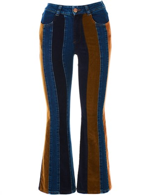 SEE BY CHLOE' - MULTICOLOR JEANS