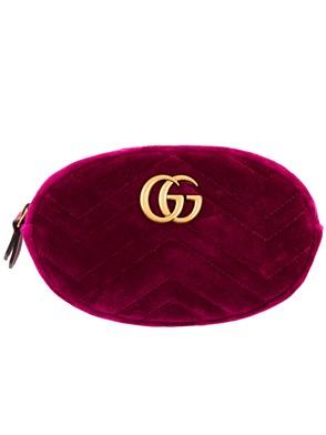 GUCCI - VELVET BUM BAG