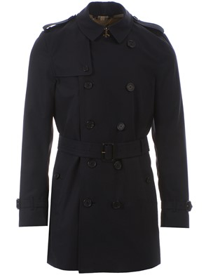 BURBERRY - TRENCH  KENSINGTON MID NAVY