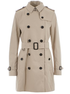 BURBERRY - TRENCH KENSINGTON MID STONE