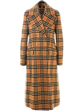 BURBERRY - BROWN ALDEMOOR COAT