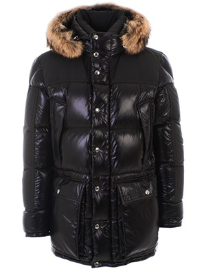 MONCLER - BLACK FREY DOWN JACKET