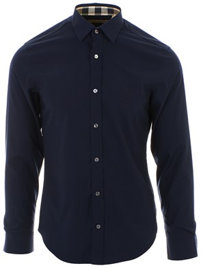 BURBERRY - BLUE CAMBRIDGE SHIRT