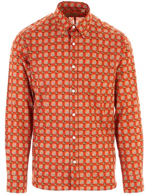BURBERRY - RED STRENTAL SHIRT