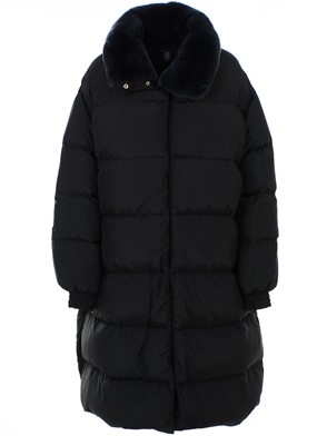 ELEVENTY - BLACK DOWN JACKET