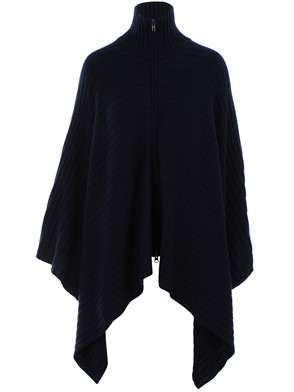 AUTUMN CASHMERE - BLUE CAPE