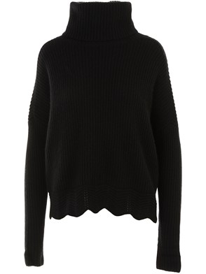 AUTUMN CASHMERE - BLACK SWEATER