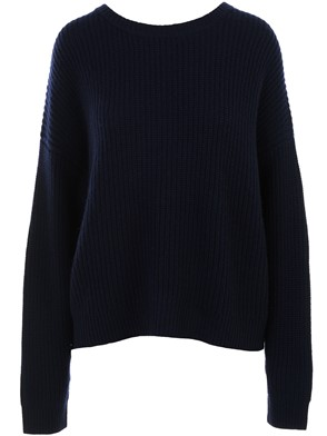 AUTUMN CASHMERE - BLUE SWEATER
