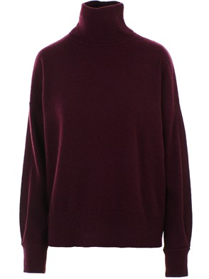 AUTUMN CASHMERE - BURGUNDY SWEATER