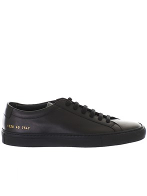 COMMON PROJECTS - BLACK SNEAKERS