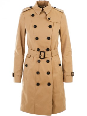 BURBERRY - BEIGE SANDRINGHAM LONG TRENCH COAT