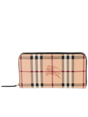BURBERRY - BROWN ELMORE WALLET