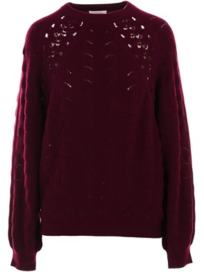 SEE BY CHLOE' - MAGLIA BORDEAUX