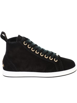 JIMMY CHOO - BLACK SNEAKERS