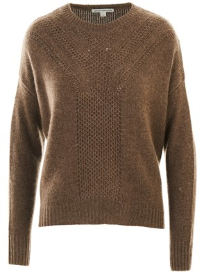 AUTUMN CASHMERE - BROWN SWEATER