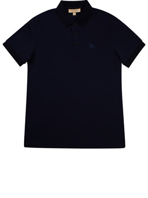 BURBERRY - POLO M/C HARTFORD NAVY