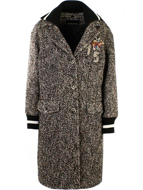 ERMANNO SCERVINO - MULTICOLOR COAT