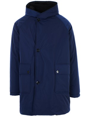 OOF - BLACK AND BLUE PARKA