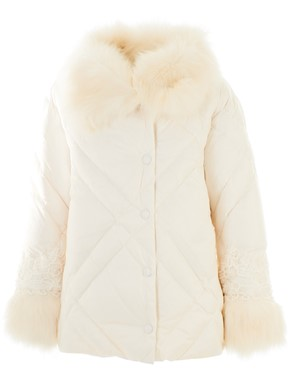 ERMANNO DI ERMANNO SCERVINO - WHITE DOWN JACKET