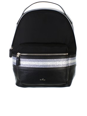 HOGAN - BLACK BACKPACK