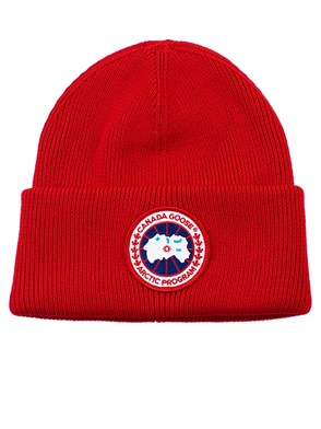CANADA GOOSE - RED BEANIE