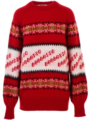 MSGM - RED SWEATER