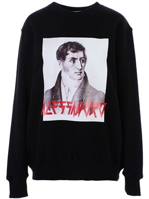 MSGM - BLACK SWEATSHIRT