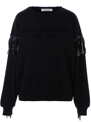 PHILOSOPHY BY LORENZO SERAFINI - BLACK SWEATSHIRT