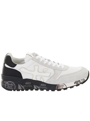 PREMIATA - WHITE MICK SNEAKERS