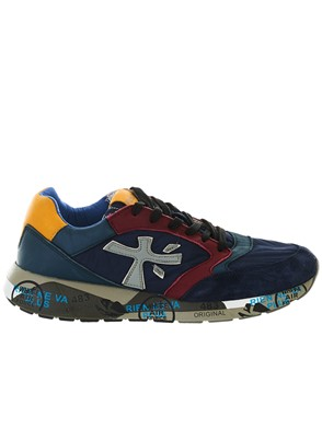 PREMIATA - BLUE ZAC ZAN SNEAKERS