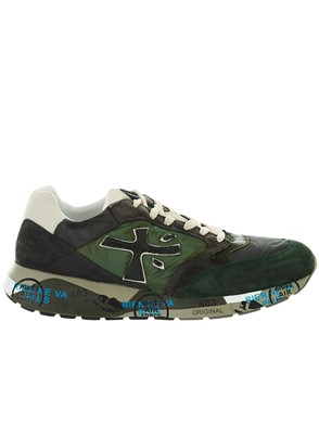 PREMIATA - GREEN ZAC ZAN SNEAKERS