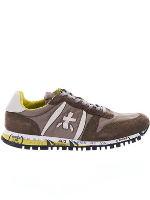 PREMIATA - ARMY GREEN PRINCE SNEAKERS