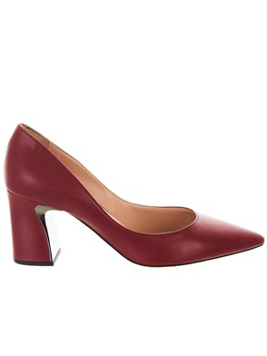 SEBASTIAN - BURGUNDY PUMPS