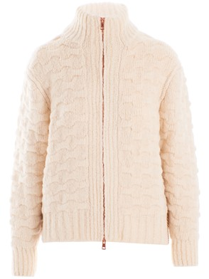 SEE BY CHLOE' - BROWN AND WHITE SWEATER