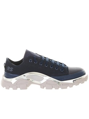 ADIDAS BY RAF SIMONS - BLUE DETROIT SNEAKERS