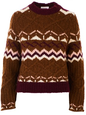 SEE BY CHLOE' - BROWN SWEATER
