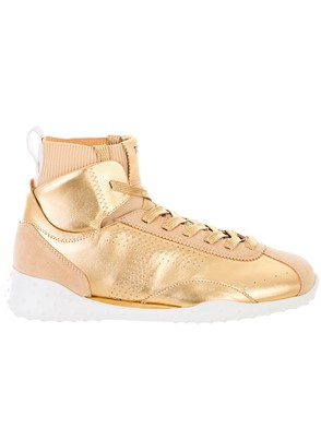 TOD'S - GOLD SNEAKERS