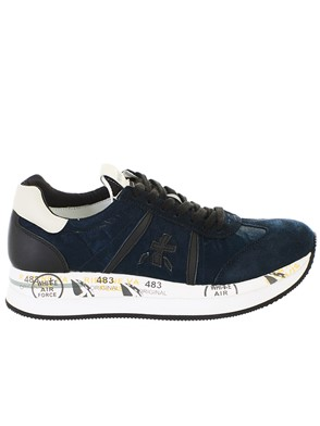 PREMIATA - BLUE CONNY SNEAKERS