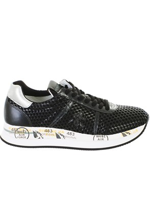 PREMIATA - BLACK CONNY SNEAKERS